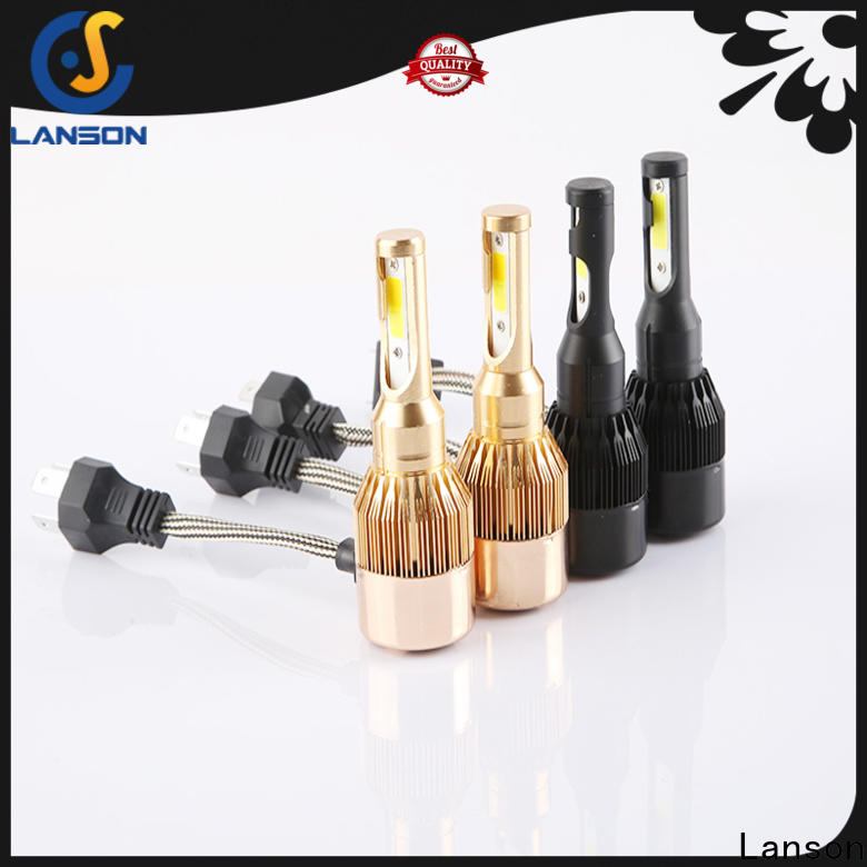 Lanson car led light bulbs wholesale manufacturer for vehicles