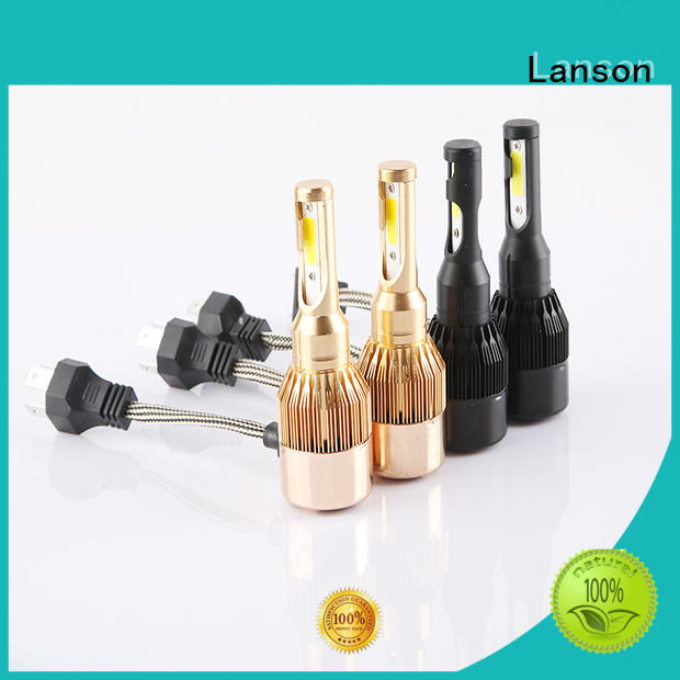 Lanson dual color best headlights design for van