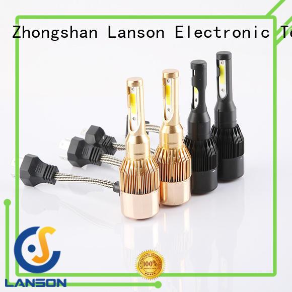Lanson dual color c6 h11 led factory for van